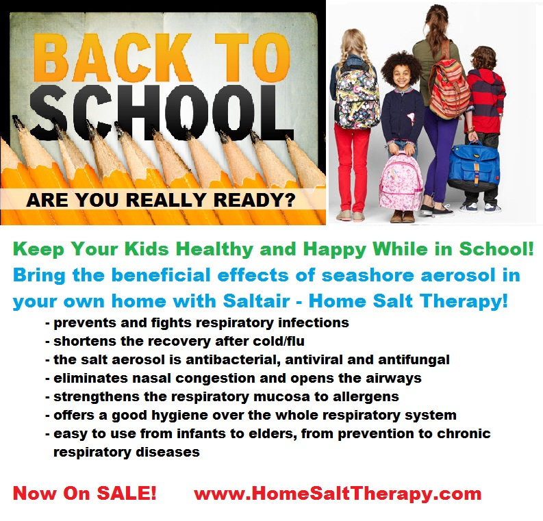 Back to School Salt Therapy Sale