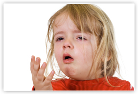 chronic cough and wheezing