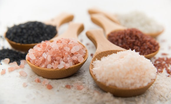 Types of rock salt