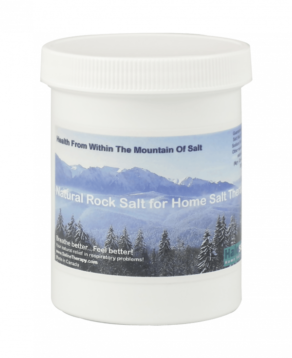 Rock Salt for salt therapy